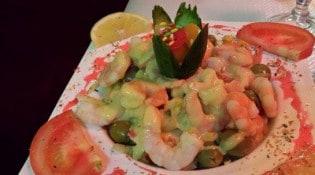 Tajmahal - Un plat à base de crevettes