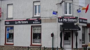 La Mi-Temps - La façade du restaurant