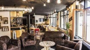 Abattoir Café - La salle de restauration