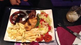Hot Grill - Le menu Gold