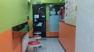 """Rapido""""s Pizza - La salle de restauration"""