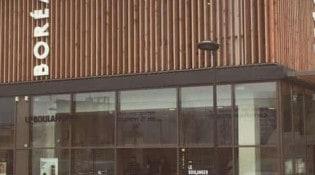 Borea - La façade du restaurant