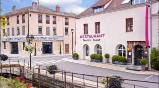 Frédéric Doucet - La façade du restaurant