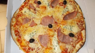 A l'heure italienne - Une pizza