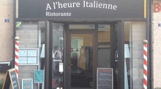 A l'heure italienne - Le restaurant