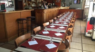 Café de la Paix - La salle de restauration