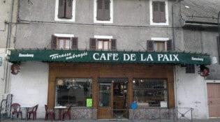 Café de la Paix - La façade du restaurant