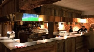 Les Roches Blanches - Le bar