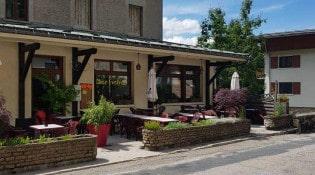 Au beau jus - La façade du restaurant