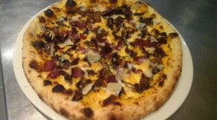 Le Chalet à pizza - Une pizza