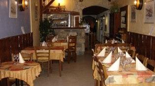 La Fine Fourchette - La salle de restauration