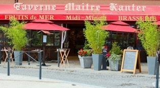 La Taverne de Maitre Kanter - La façade du restaurant