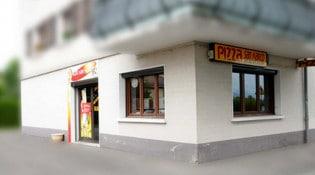Pizza San Marco - extérieur de la Pizzeria