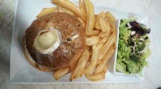 Chez Albert - Burger biquette