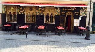 Zerda Café - Le restaurant et sa terrasse