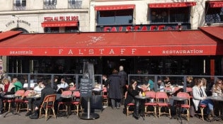 Falstaff - Le restaurant
