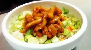 Bozen Sushi - La salade bozen