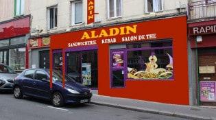 Aladin - La façade du restaurant