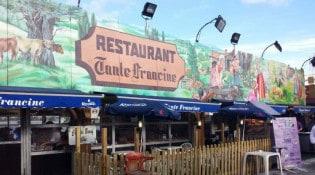 Tante Francine - La façade du restaurant