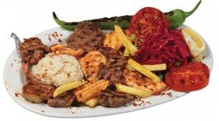 Pacha kebab - Un plat