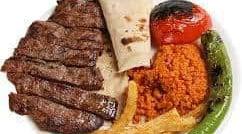 Pacha kebab - Une assiette