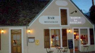 Marion les Saveurs - La façade du restaurant