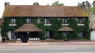 La Maison des bois - La devanture du restaurant