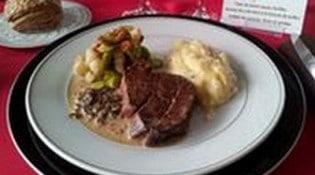 Le restaurant Le Trévins - Un plat