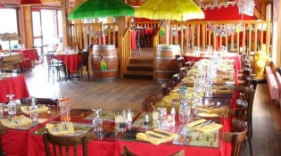 Le Grill d'Oncle Sam - La salle de restauration