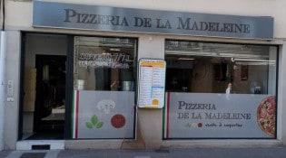 Pizzeria De La Madeleine - La façade du restaurant
