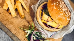 Frenchie - Un burger, frites