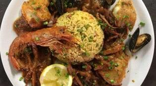 L'Oasis - Une assiette du pêcheur