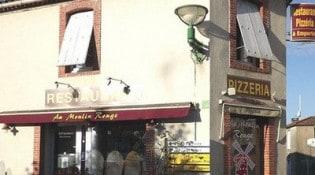 Au Moulin Rouge - Le restaurant