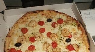 La Braise - Une pizza gambereti