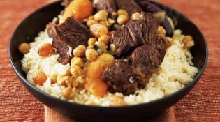 Couscous Traditionnel Maison - Le couscous au boeuf