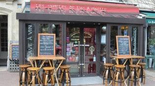 Les symples de l'os à moelle - La façade du restaurant