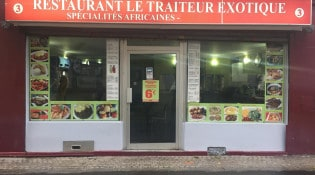 Le traiteur exotique - La façade du restaurant
