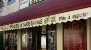 Le Balal - La façade du restaurant