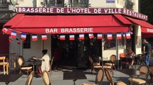 Brasserie de l'Hotel de ville - La façade du restaurant