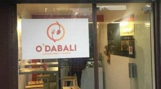 O'dabali - La façade du restaurant