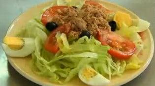 La Comedia - Une assiette de salade