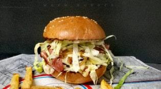 Warm Burger - Un burger et frites