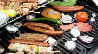 La grange à barbecue - Les préparations du chef